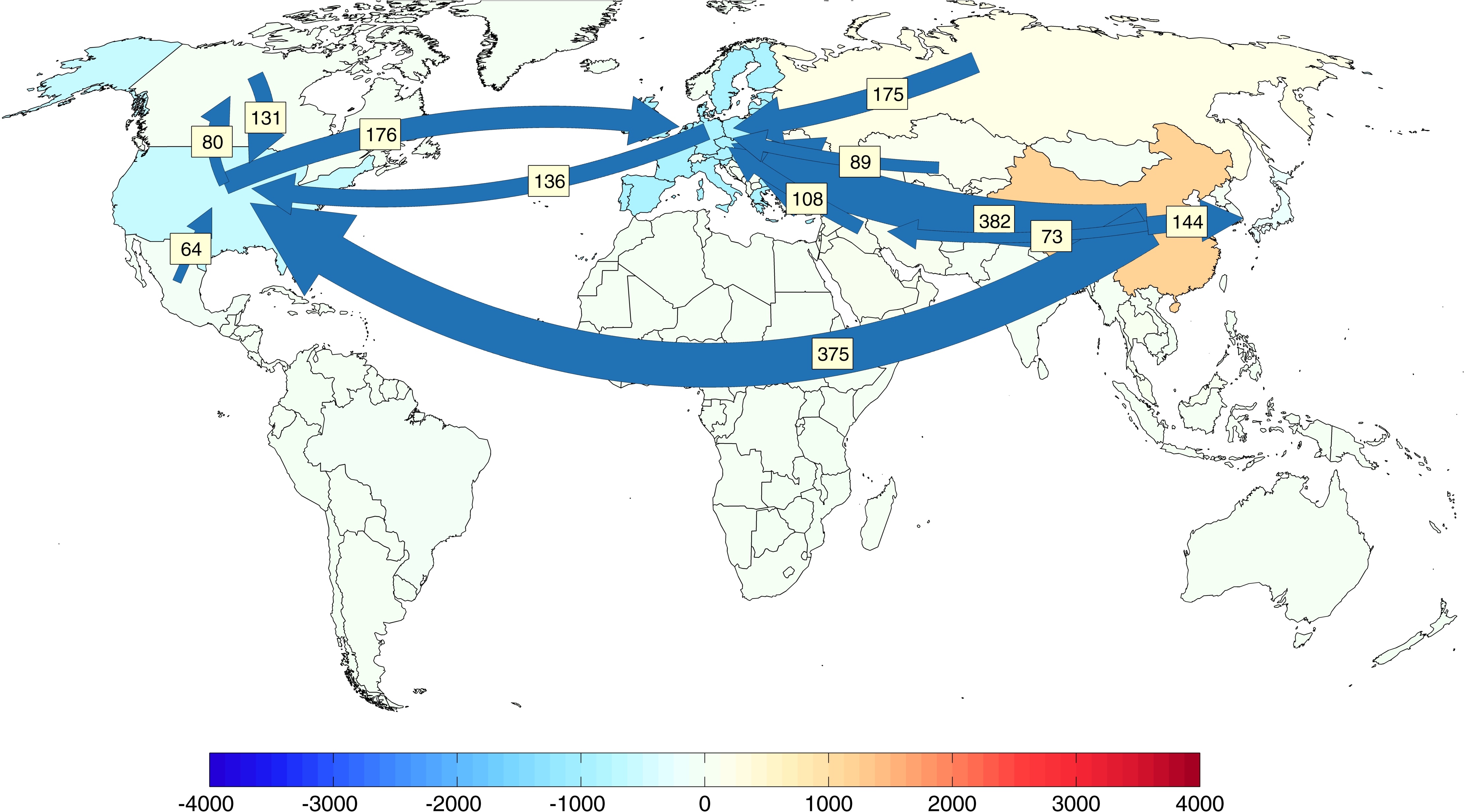 Heres One Thing The US Does Export To China Carbon Dioxide - Us greenhouse gas emissions map